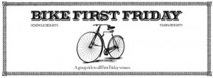 Bike First Friday in the Heights